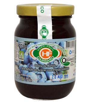 Geleia de Mirtilo S/Adição de Açúcar 270G - CARRARO