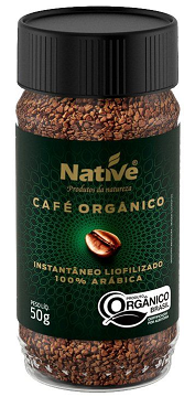 Café Orgânico Instantâneo Native 50g