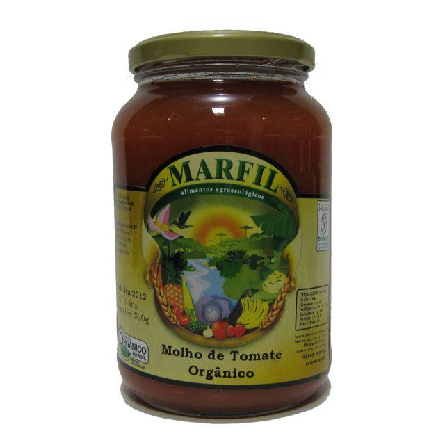 MOLHO DE TOMATE 580G - MARFIL