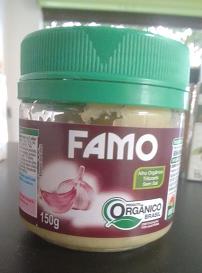ALHO ORGÂNICO FAMO 150gr