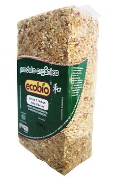 Arroz Cateto Integral Orgânico Coopernatural  - 1kg