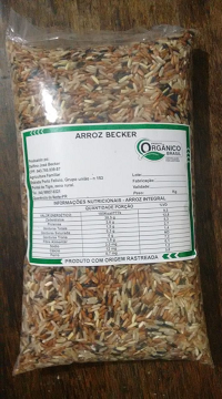 Arroz Agulhinha Integral Orgânico CARNAVAL Delfino Becker 1kg