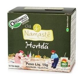 Chá Hortelã Caixa com 10 sachês de 15 g – Namastê
