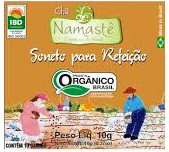Chá Soneto pós Refeição Orgânico Natural e Vegano Namastê 10 g