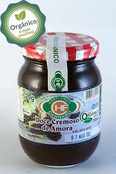 DOCE CREMOSO DE AMORA (CHIMIA) 320G