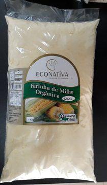 FARINHA DE MILHO ORGÂNICA ECONATIVA 1KG