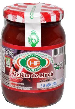 GELEIA DE MACA 325G ORG