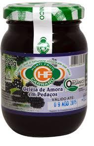GELEIA DE AMORA EM PEDAÇOS 320G ORG