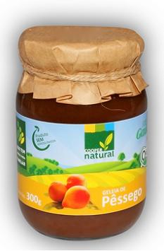 Geléia de Pêssego Orgânica 300g COOPERNATURAL