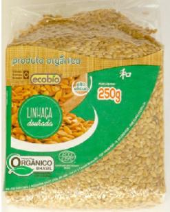 Linhaça Dourada Orgânica Ecobio 250g
