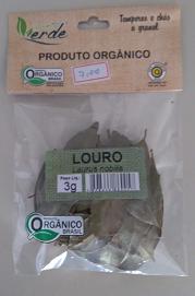 LOURO ORGÂNICO QUINTAL VERDE  3g
