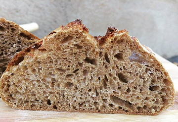 Pão 100% integral - 450g