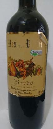 Vinho Tinto Seco Orgânico Hex von Wein - Coopernatural
