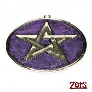 Pentagrama Parede Roxo