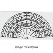 Relógio Radiestesico PVC