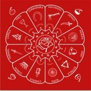 Toalha Cigana Vermelha