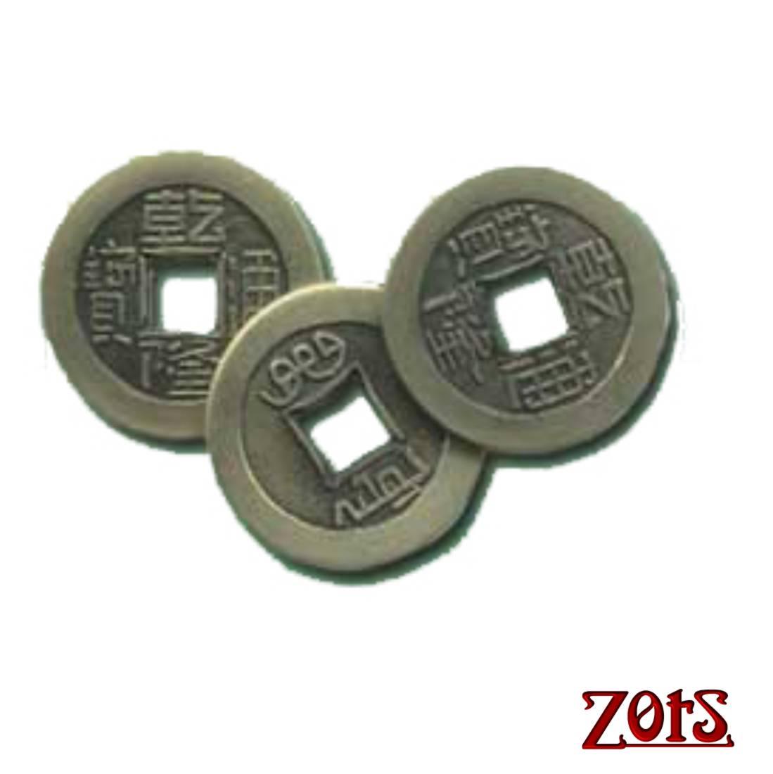 Moedas Feng Shui- 50 un  - Zots