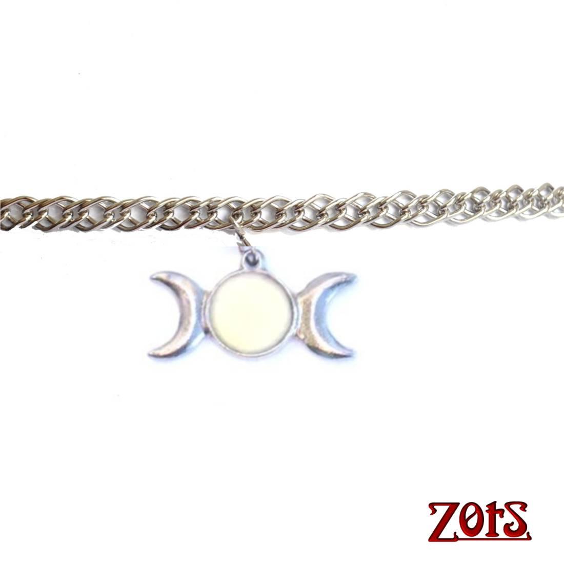 Circlet Triluna Branco  - Zots - Leila Cabanas Azevedo