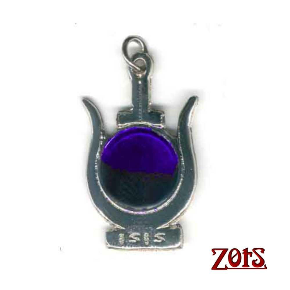 Coroa de Isis Pingente Roxo  -  Zots