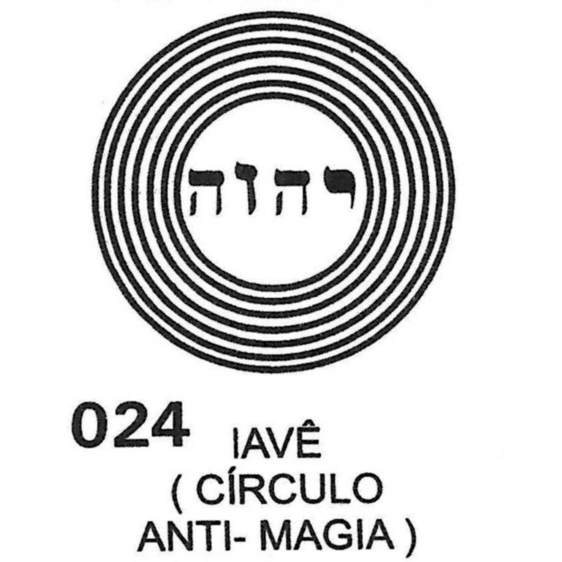 Iavê - Círculo Anti-magia - PVC  -  Zots
