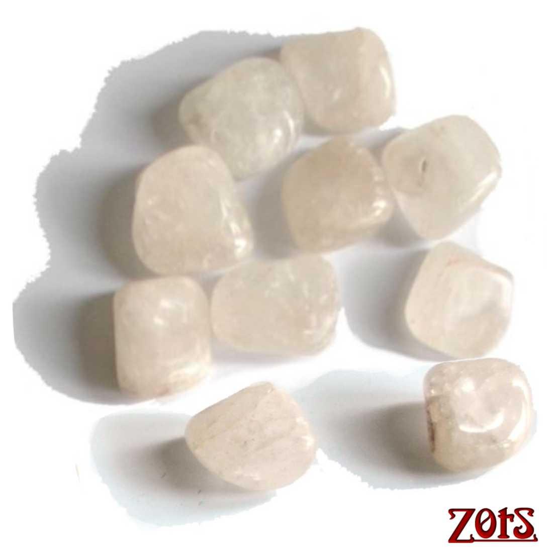 Kit 10 Pedras Frias Quartzo Leitoso  -  Zots