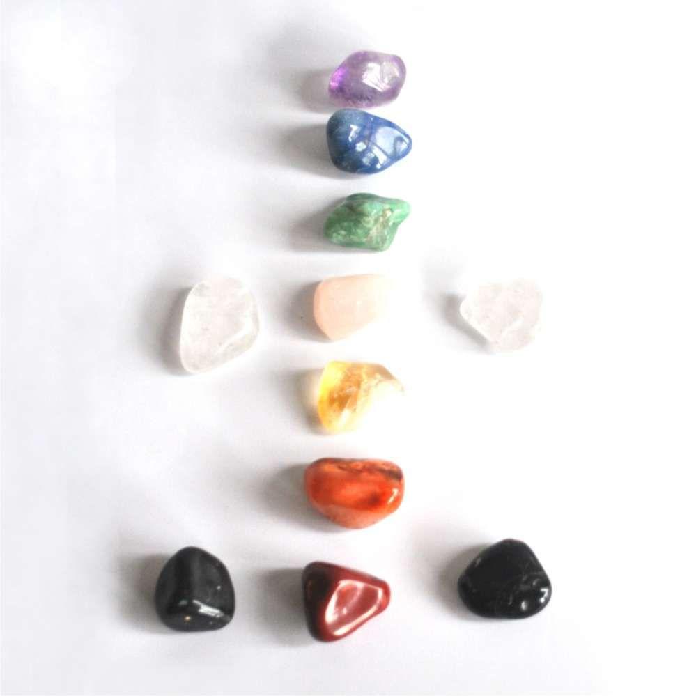 Kit 11 Pedras dos Chakras  -  Zots