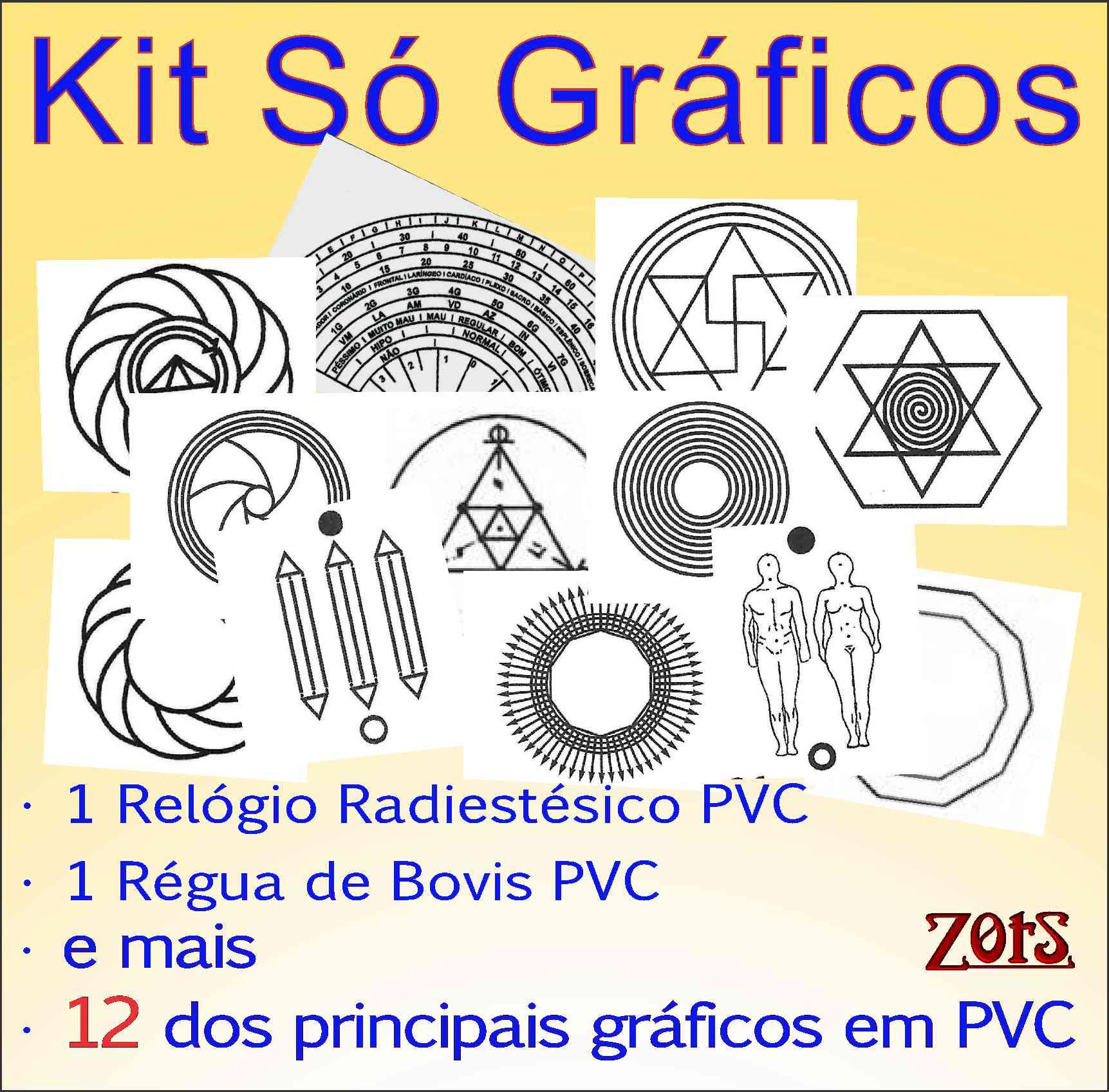 Kit Gráficos Radiestesia