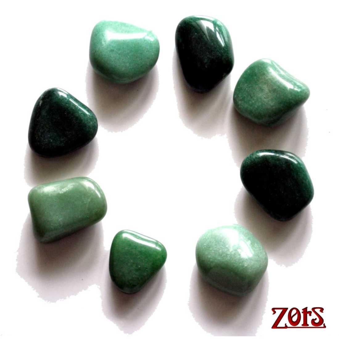 Kit Pedras Faciais Quartzo Verde  -  Zots