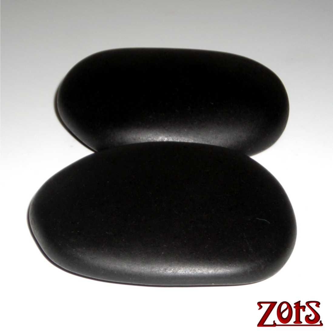 Kit Pedras Posicionamento Basalto Vulcânico  -  Zots