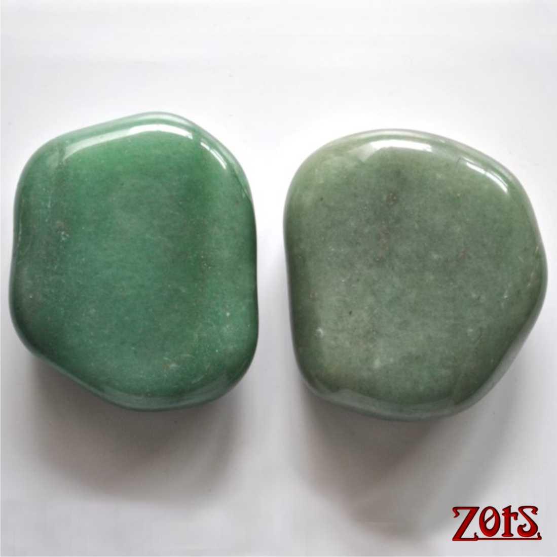 Kit Pedras Posicionamento Quartzo Verde  - Zots
