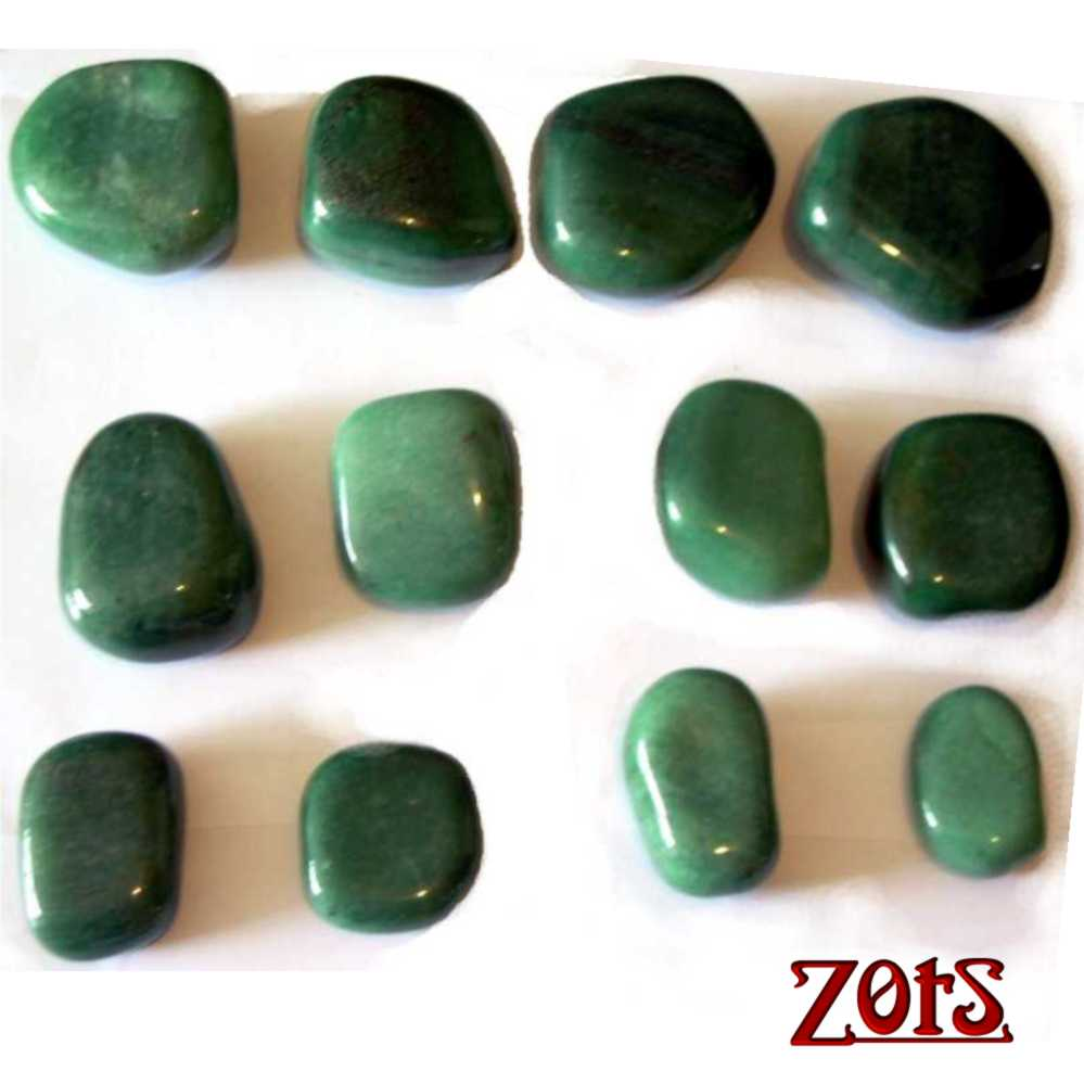 Kit Pedras Turbinado - Quartzo Verde
