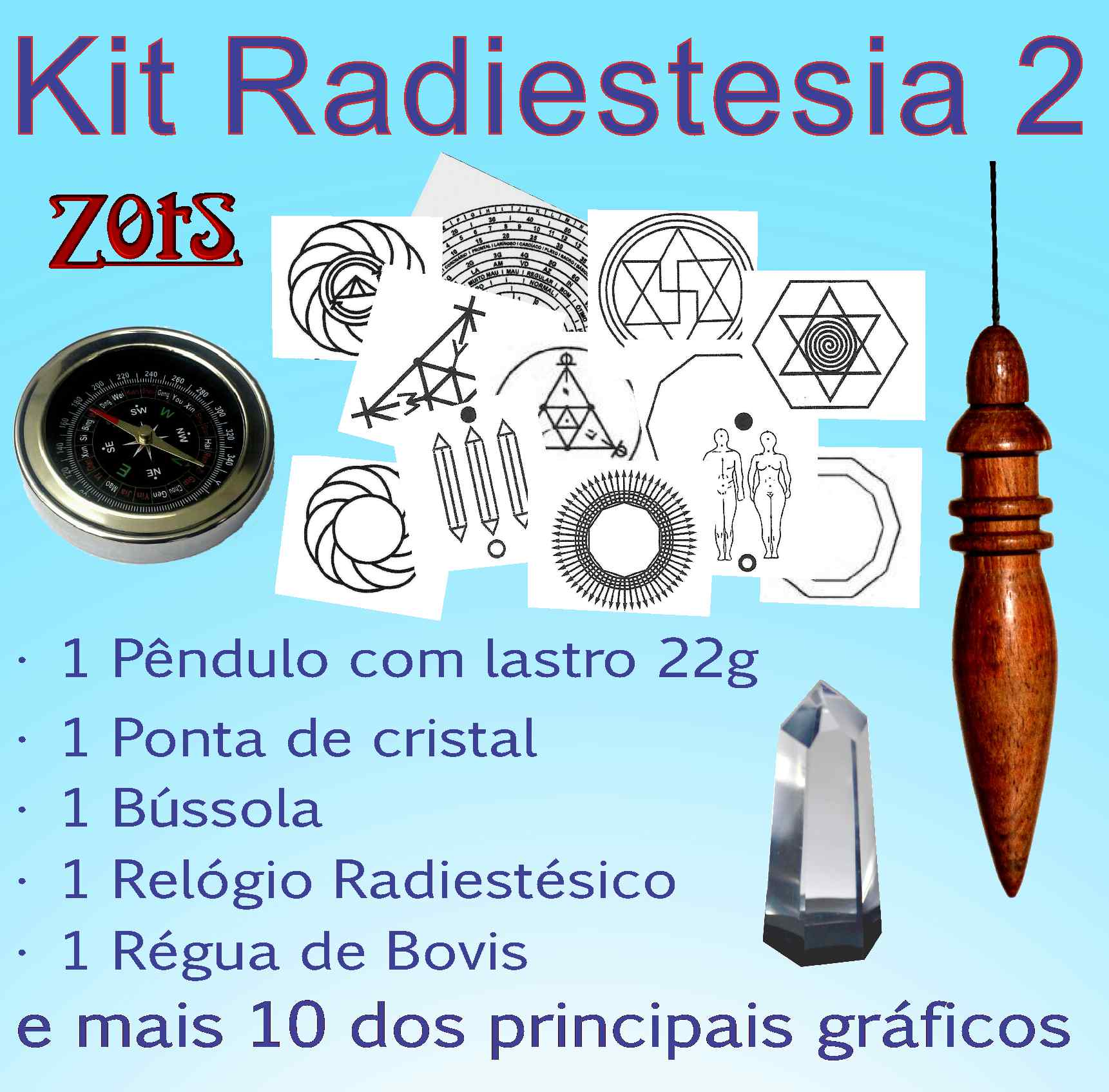 Kit  Radiestesia 2