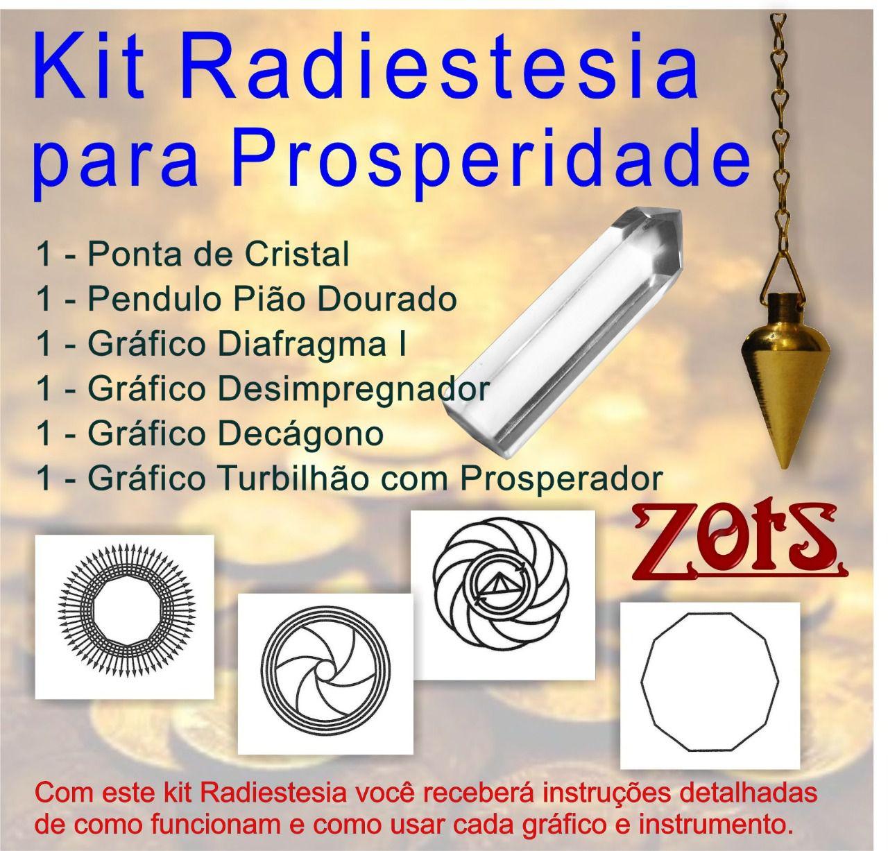 Kit Radiestesia Prosperidade