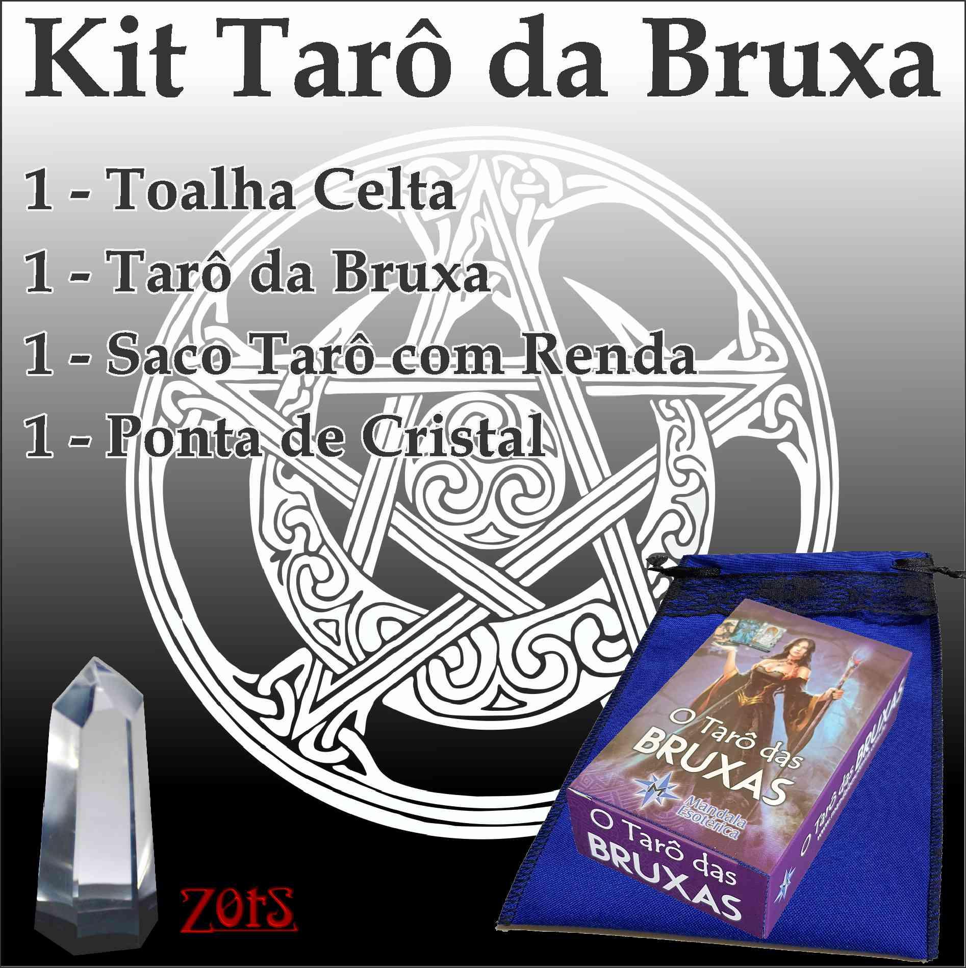 Kit Tarô da Bruxa