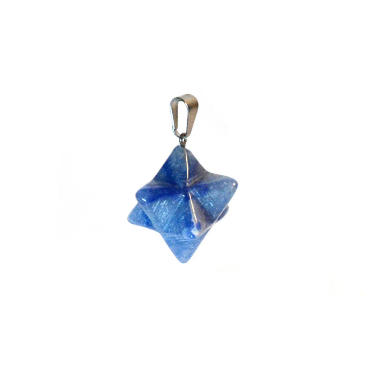 Merkabah - quartzo azul