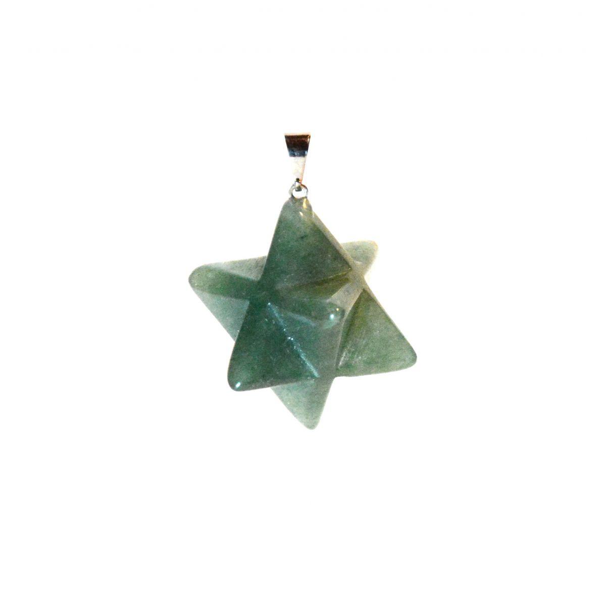 Merkabah - quartzo verde  -  Zots