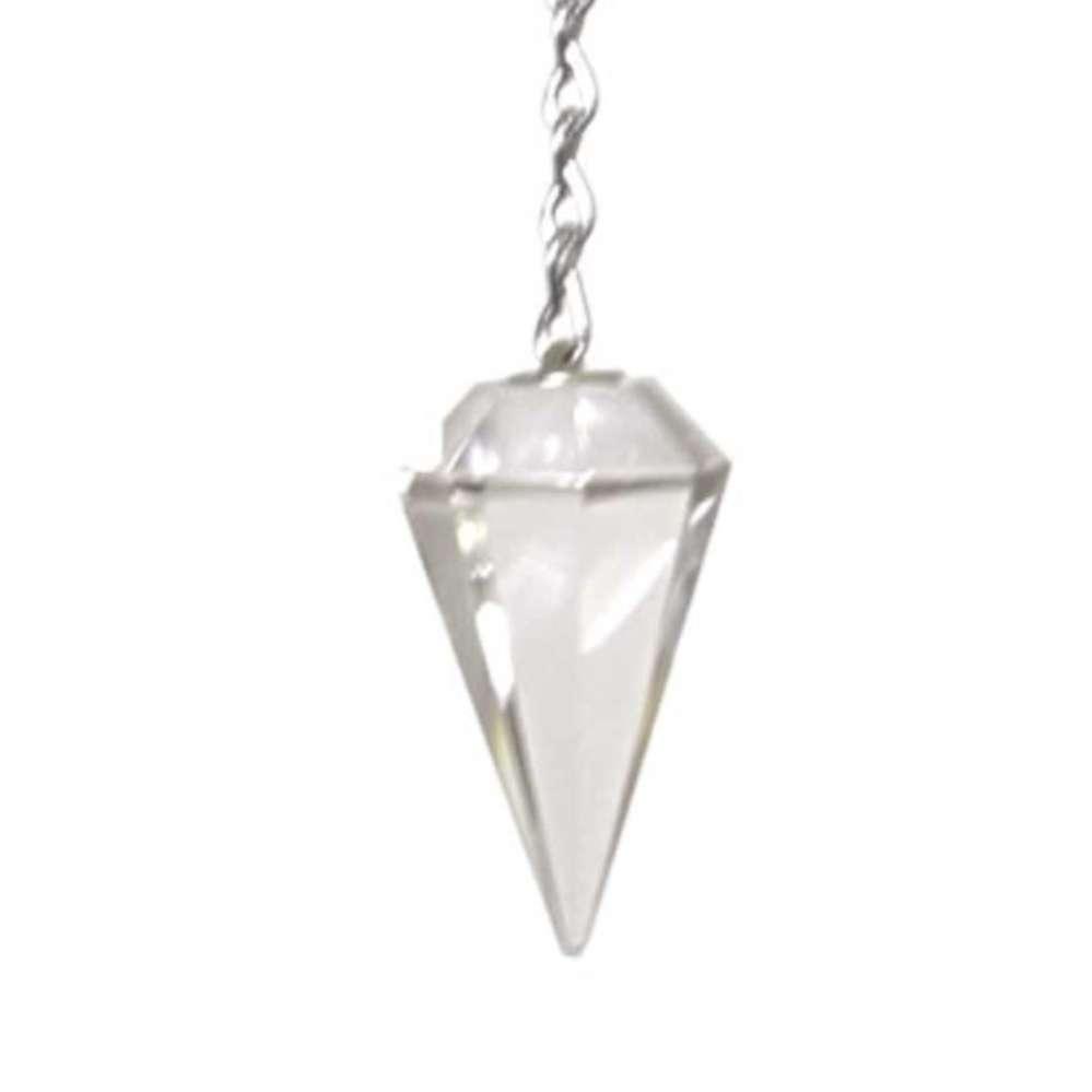 Pêndulo Cristal facetado  -  Zots