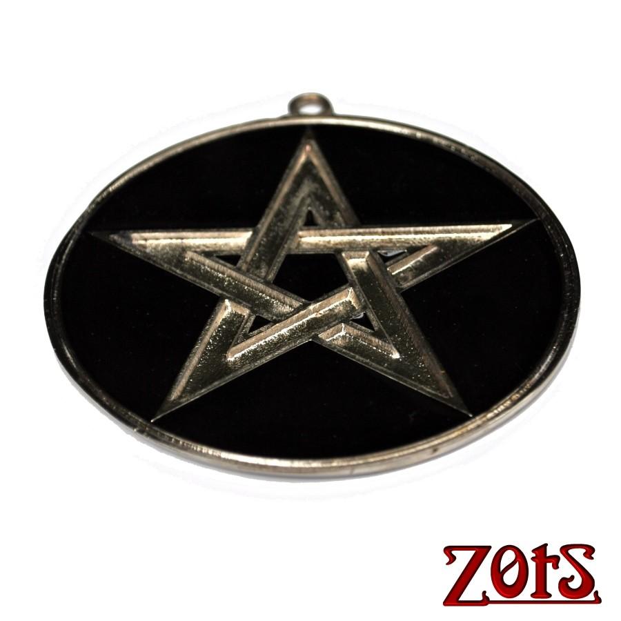 Pentagrama Parede Preto  -  Zots