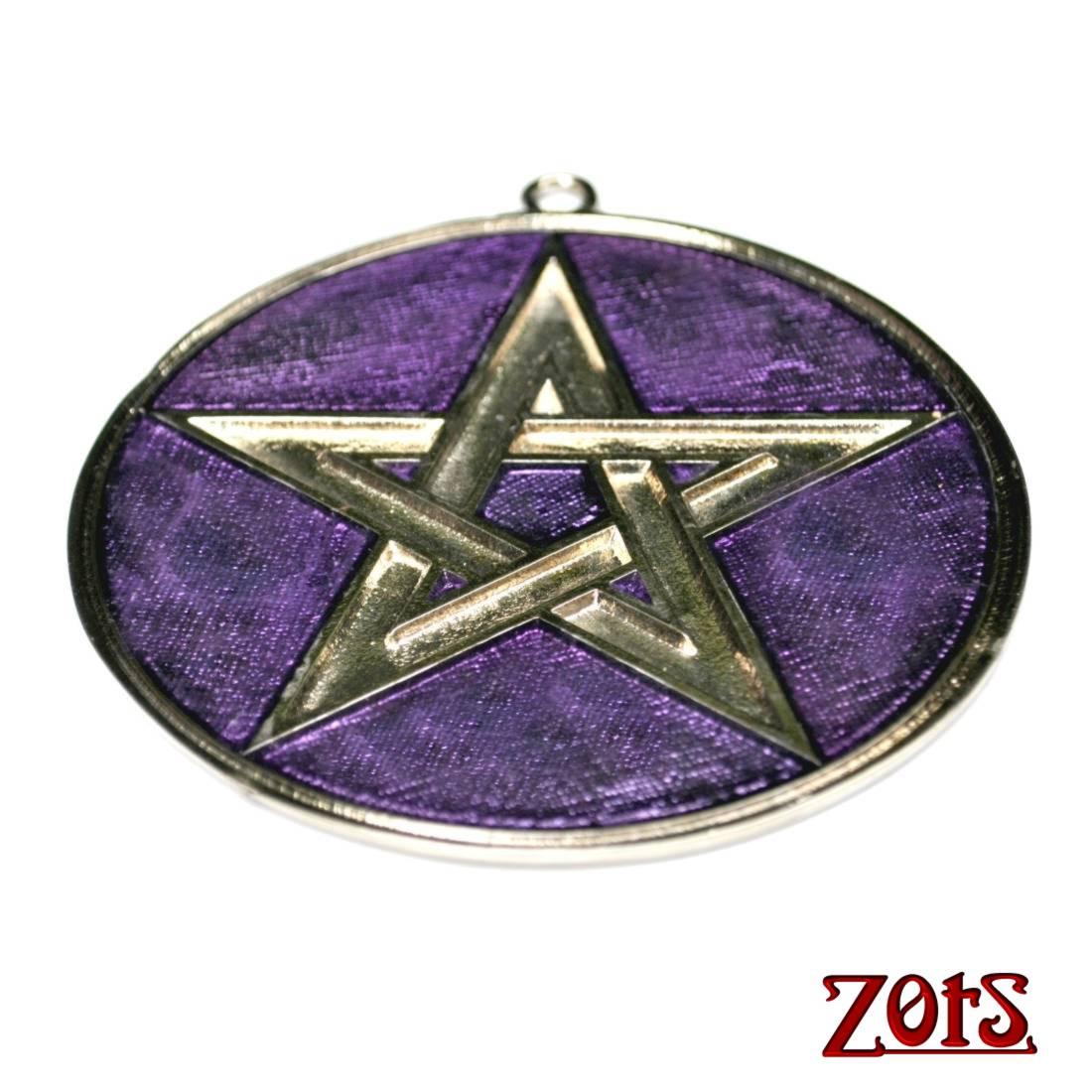 Pentagrama Parede Roxo  -  Zots