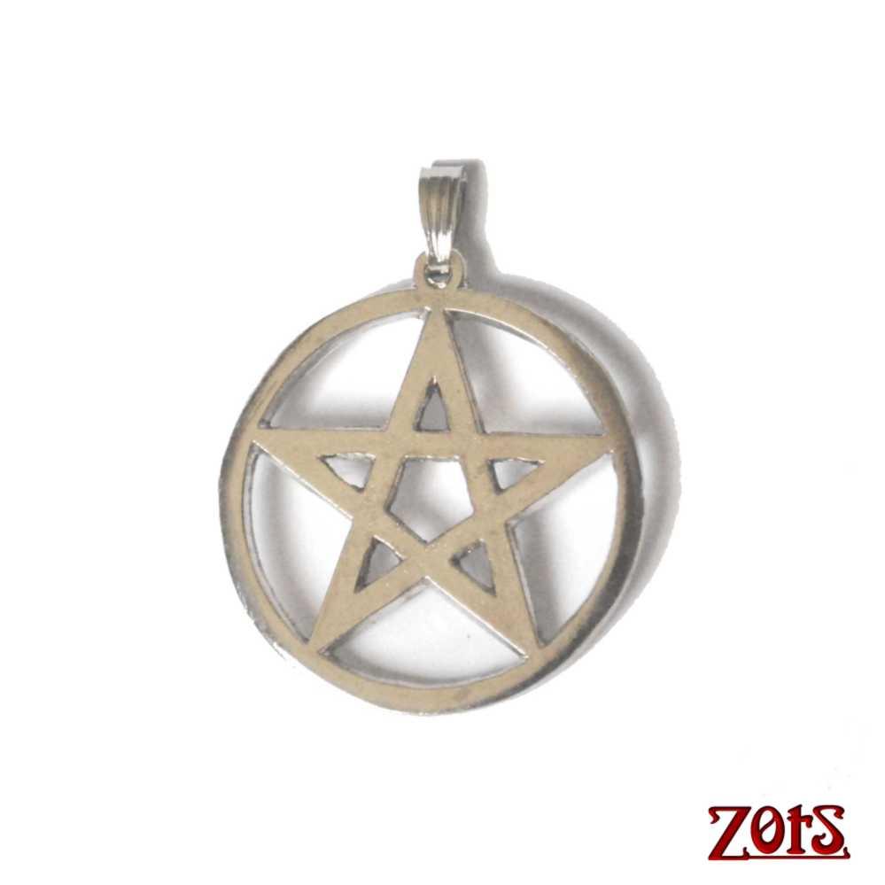 Pingente Pentagrama  -  Zots