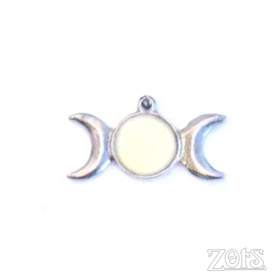 Pingente Triluna G Branco