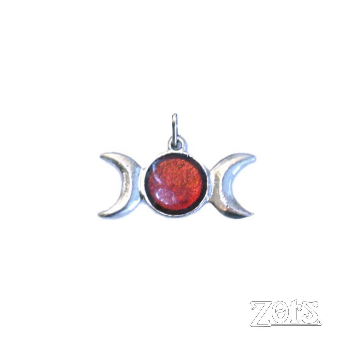 Pingente Triluna G Vermelho  - Zots