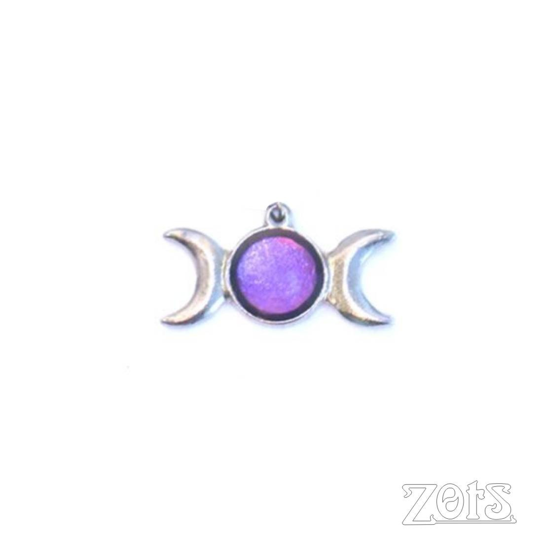 Pingente Triluna Roxo  -  Zots