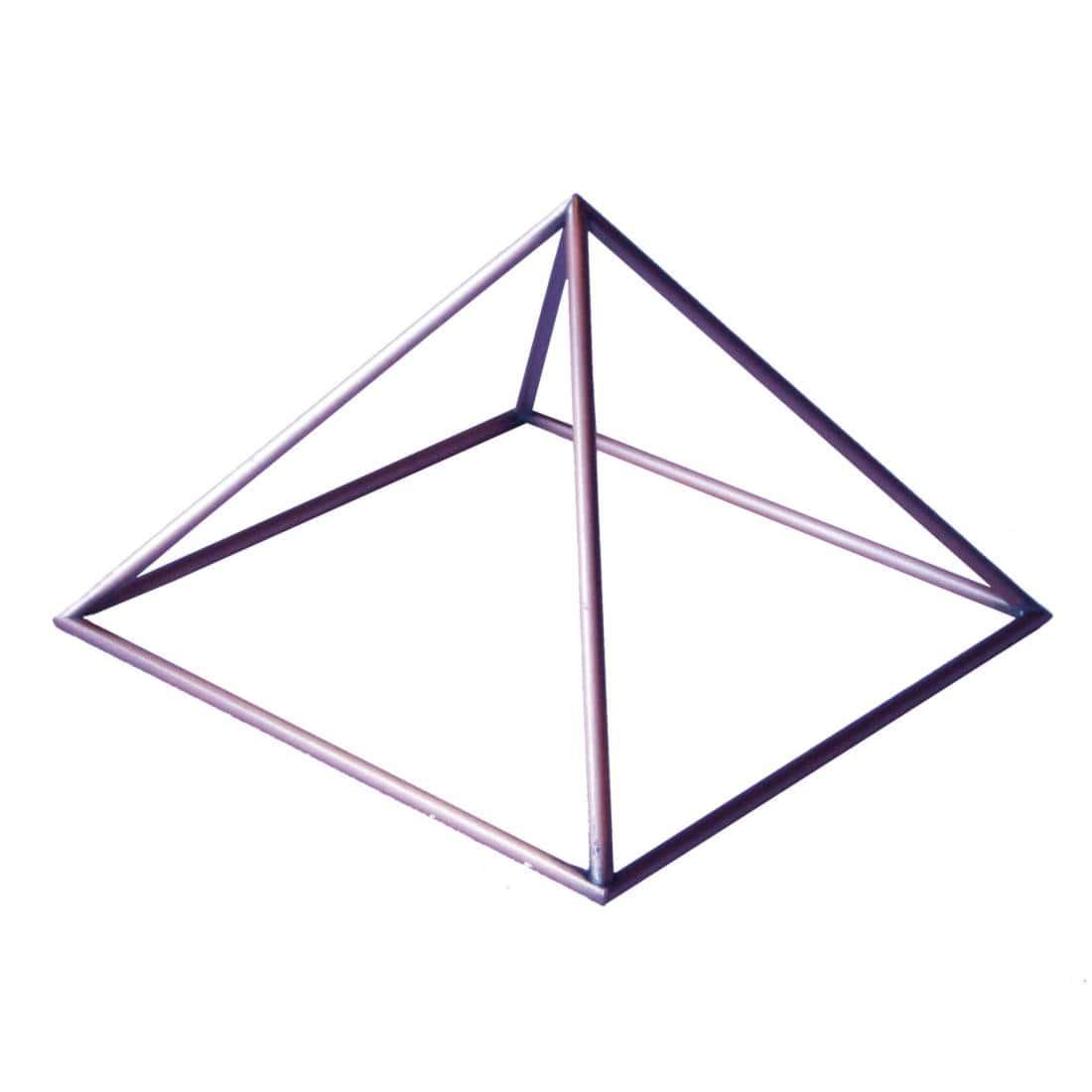 Pirâmide cobre 10 cm