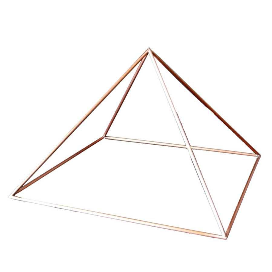 Pirâmide cobre 13 cm