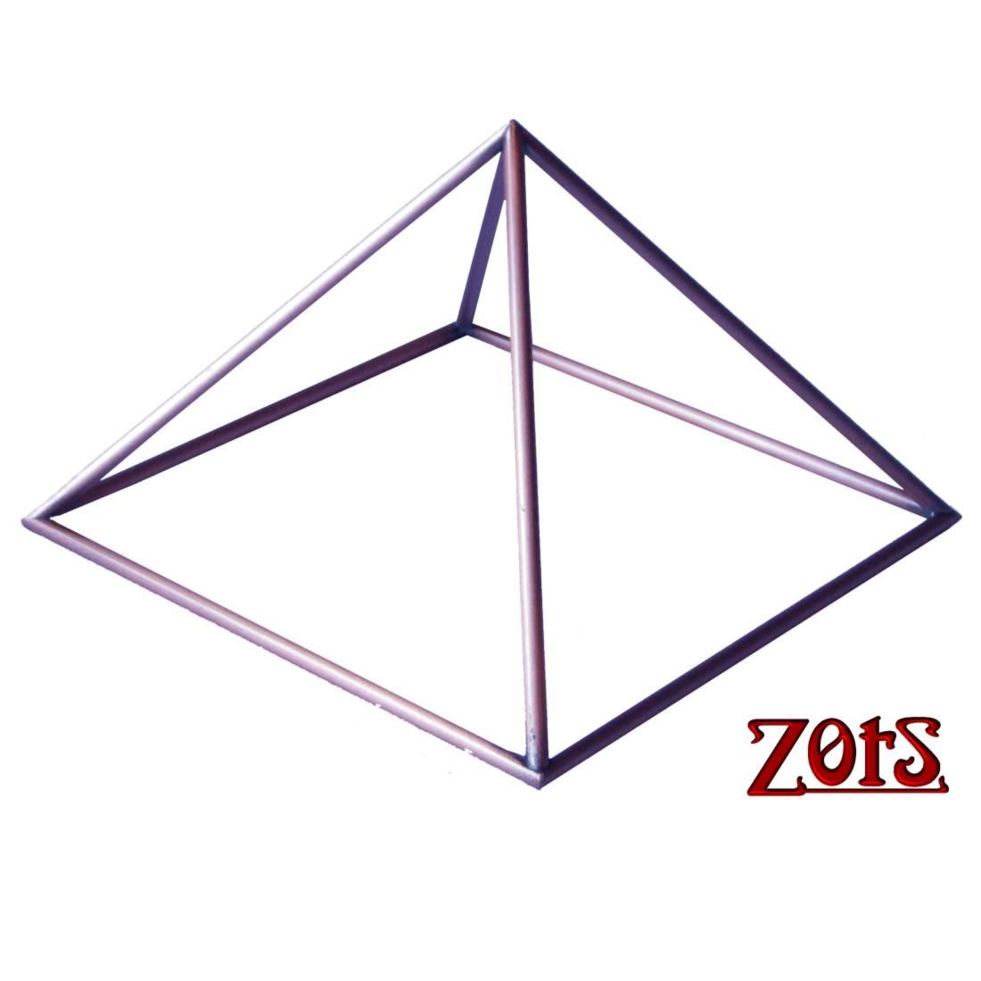 Pirâmide cobre 23cm