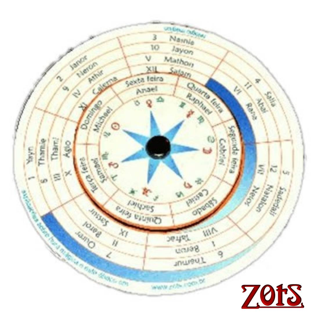 Relógio Mágico  -  Zots