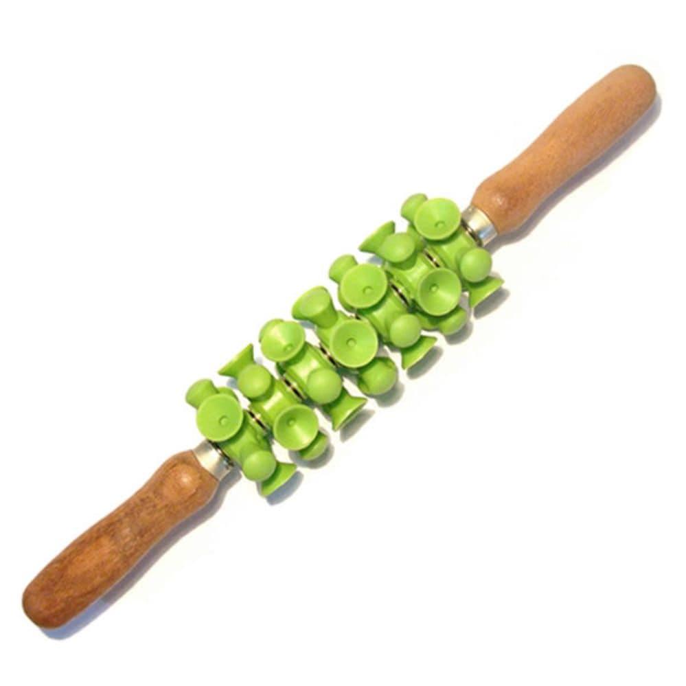 Rolo de Massagem Turbinada- verde