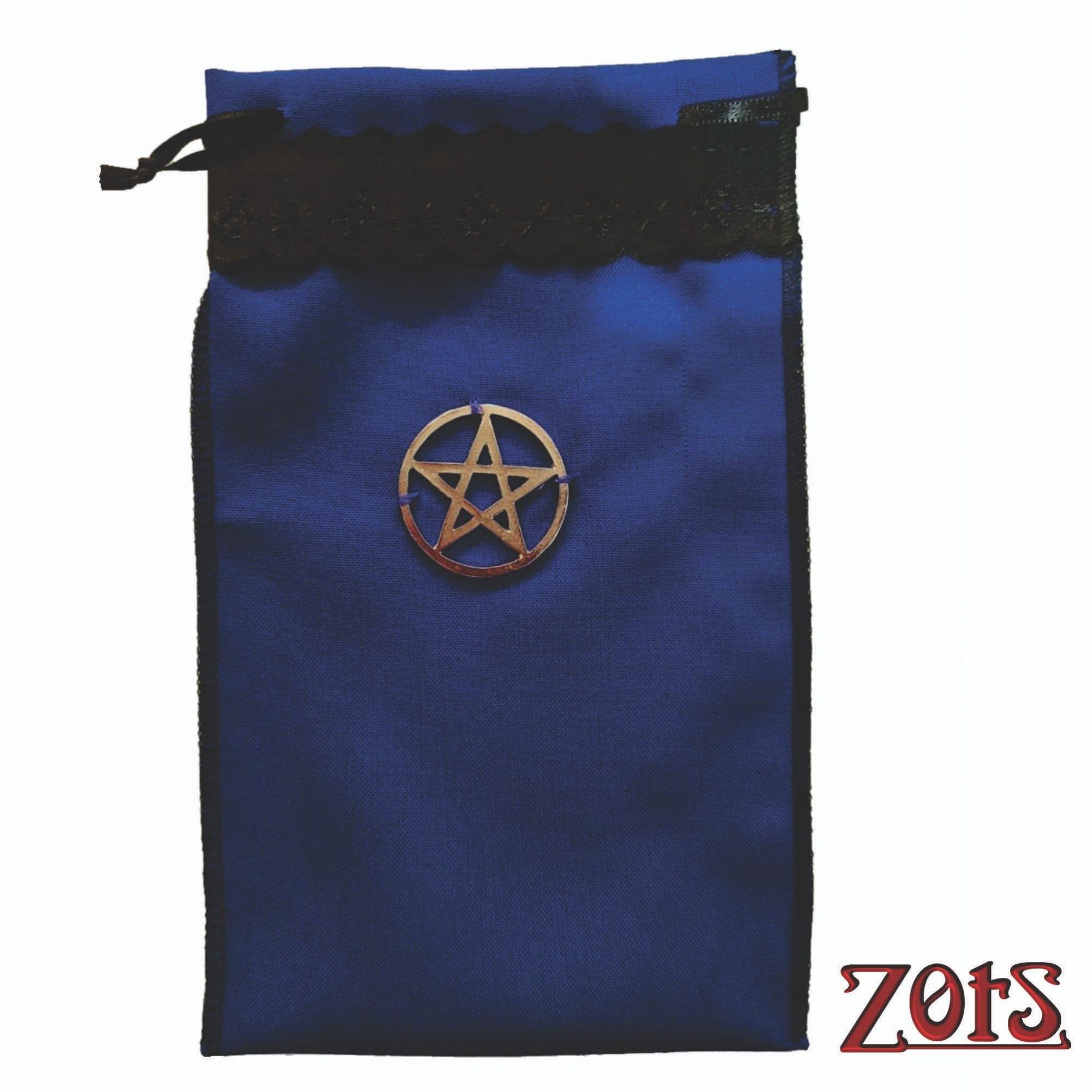 Saco Tarô com Pentagrama  -  Zots