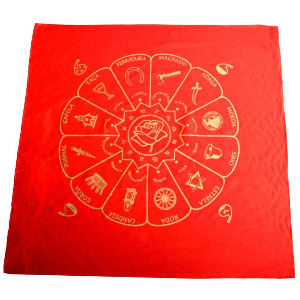 Toalha Cigana Vermelha  - Zots